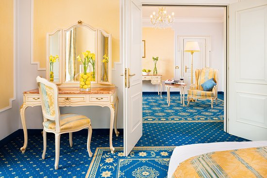 Abano Terme, Włochy: Imperial Suite at Grand Hotel Trieste & Victoria