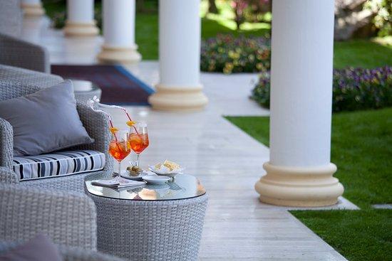 อาบาโน แตร์เม, อิตาลี: Bar at Grand Hotel Terme Trieste & Victoria