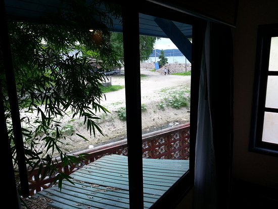 "Ao Chalong Villa & Spa: View from rear of ""Seaview Villa"", room 102"