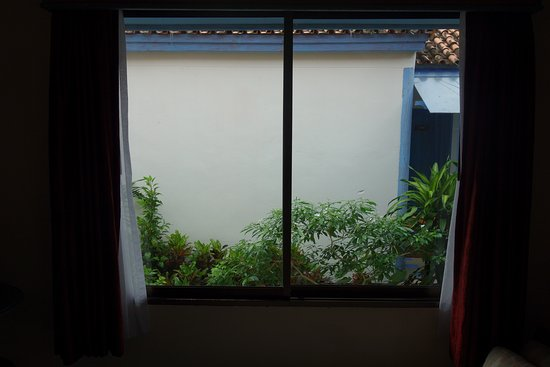 "Ao Chalong Villa & Spa: View from side of ""Seaview Villa"", room 102. No sea on view."
