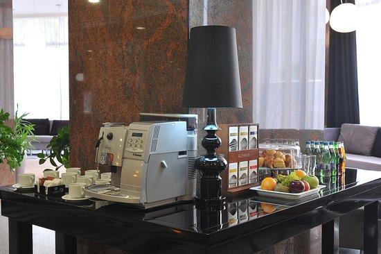 Crystal Palace Hotel: Coffee break