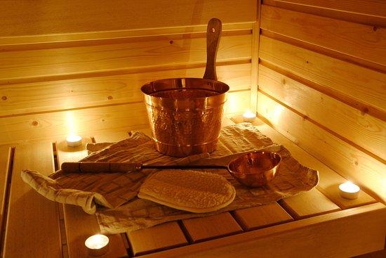 Crystal Palace Hotel: Sauna