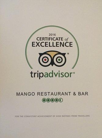 Mango Restaurant & Bar: Mango's