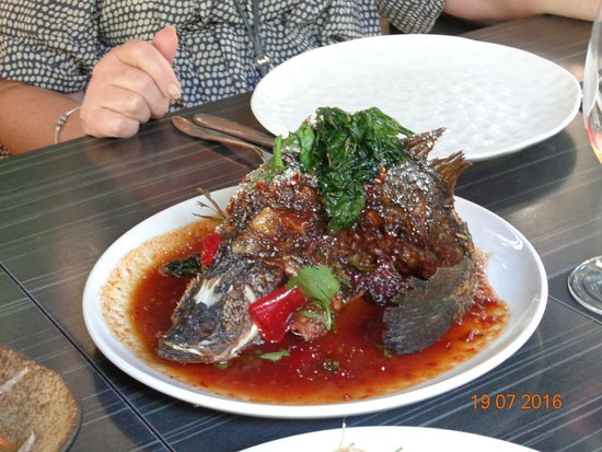 Yandina, Australia: Their Signature dish - Fish