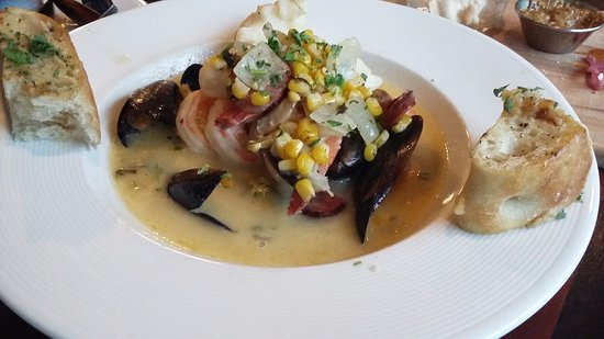 Canyon River Grill: Seafod Soup