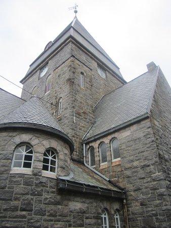Kristiansund, Norway: У стен собора
