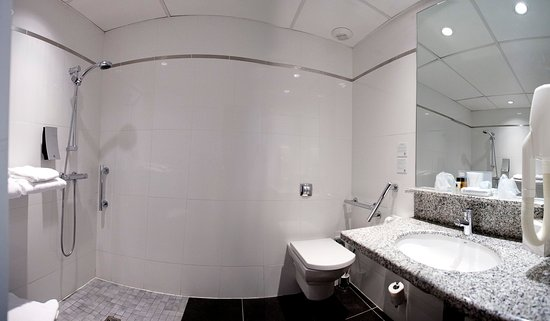 Pessac, Frankrijk: 3 standard rooms equipped with shower for disabled people
