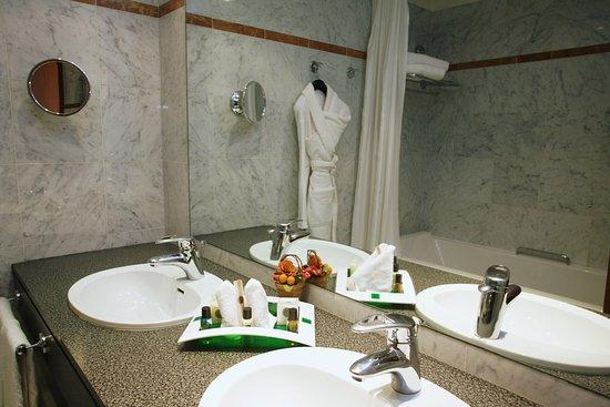 Bougival, France: Guest Bathroom