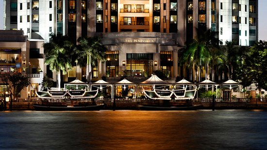 The Peninsula Bangkok: The Peninsula Exterior