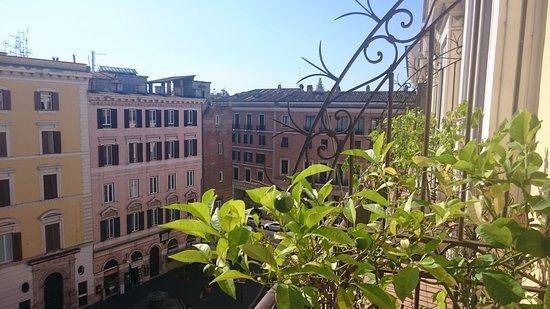 Genio Hotel: Utsikt fra balkongen på rom 505
