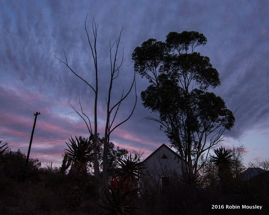 Calitzdorp, Zuid-Afrika: The Old School House at Dawn