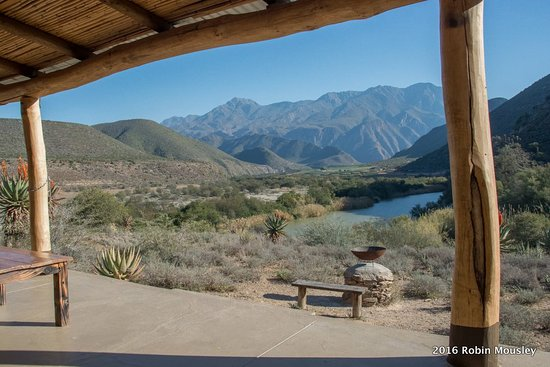 Calitzdorp, Zuid-Afrika: The view from the River View Cottages