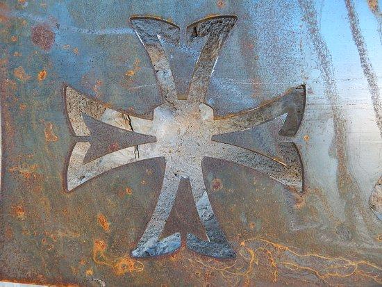 La Cavalerie, Francja: croix des templiers