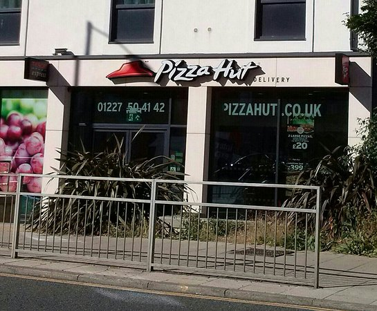 Pizza Hut Canterbury 7 New Dover Rd Restaurant Reviews