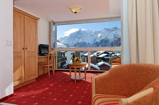 Grächen, Schweiz: Single Room