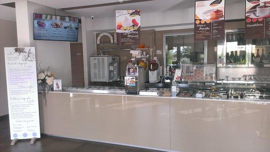 Venafro, Italia: Banco gelateria