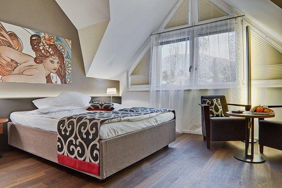 Spiez, Switzerland: Single room