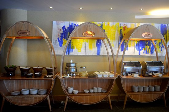 The Sunan Hotel Solo: Makanan tradisional juga ada