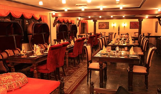 Arabian Courtyard Hotel & Spa: Arabian Courtyard Indian Restaurant Mumtaz Mahal