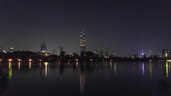 หนานจิง, จีน: Night view