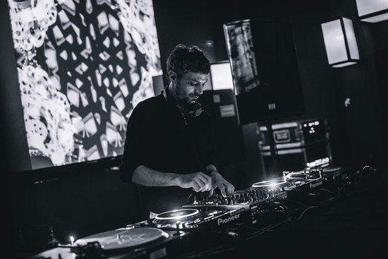 Corvin Club: Our very own resident DJ, Andras Toth