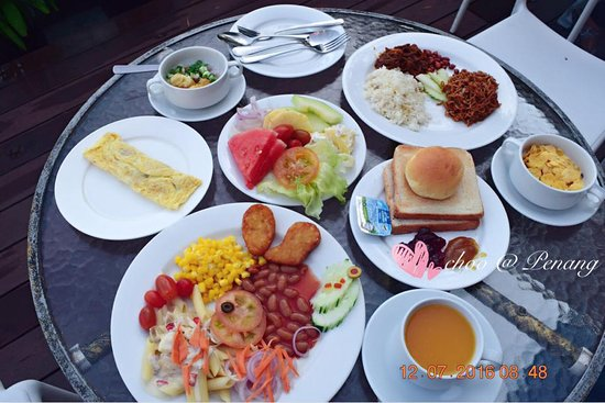Breakfast At Hotel Sentral Seaview Picture Of Hotel Sentral Seaview Penang Tanjung Tokong