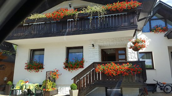 Radovljica, Slovénie : Apartmaji Jansa