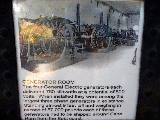 """Folsom, CA: """"Generator room"""" poster"""