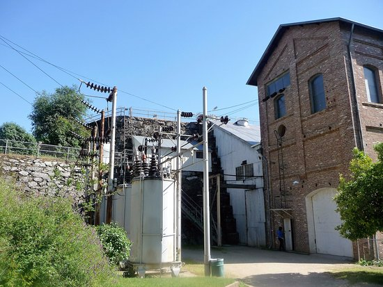 Folsom, Καλιφόρνια: Outside the powerhouse