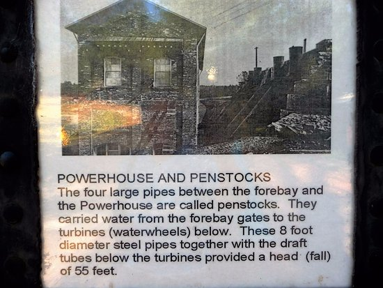 "Folsom, Καλιφόρνια: ""Powerhouse and Penstocks"" Poster"