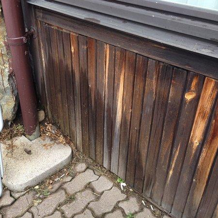Senales, Italia: Zum Zimmer zugehörige Terrasse