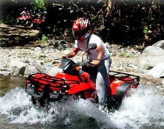 Birri, Costa Rica: quadracycle tours to both volcanos