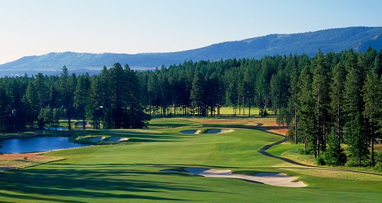 Cle Elum, Ουάσιγκτον: suncadia_golf_roperider_hole11