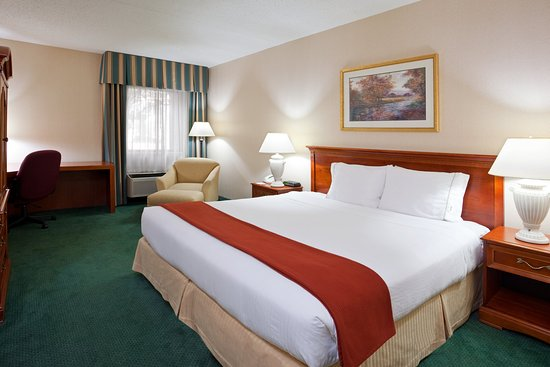 Warren, MI: King Bed Guest Room