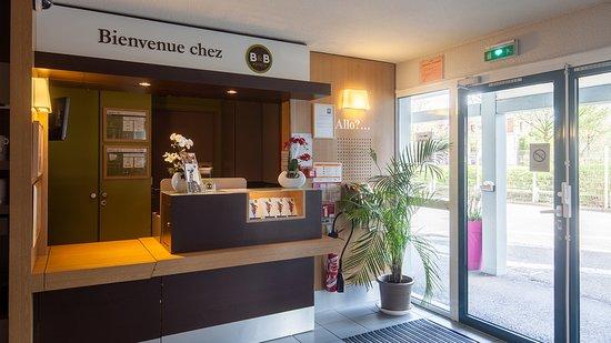 Le Grand-Quevilly, Frankrike: B&B Hôtel Rouen Parc des Expos B