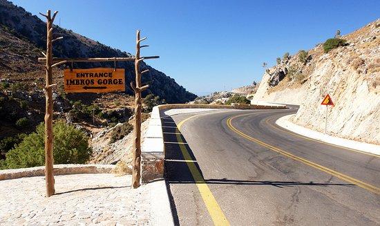 Impros, Grækenland: Вход в Ущелье Имброс