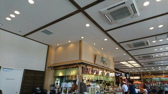 Mori-machi, Japón: 外観とおはぎセット