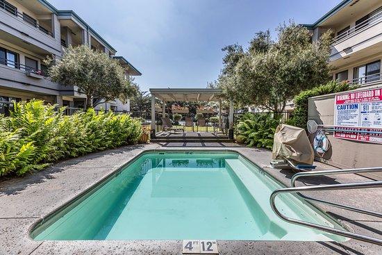 Monterey Beach Dunes Inn: Pool