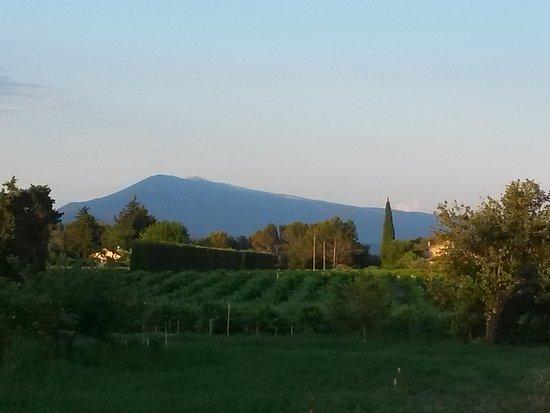 Sarrians, Francia: derniers rayons de soleil sur le Ventoux