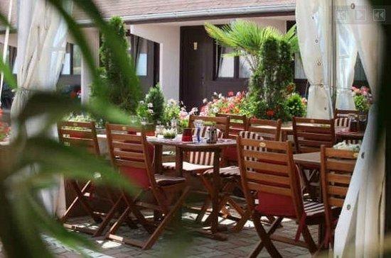 Rouffach, Francia: Nice garden
