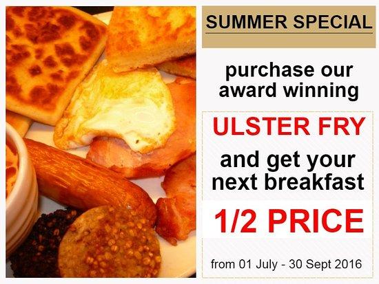 Donnelly's Bakery & Coffee Shop: Award winning Breakfast