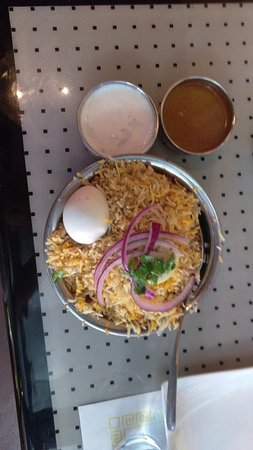 El Dorado Hills, CA: Yeah, you guessed it. More Shrimp (Biryani)