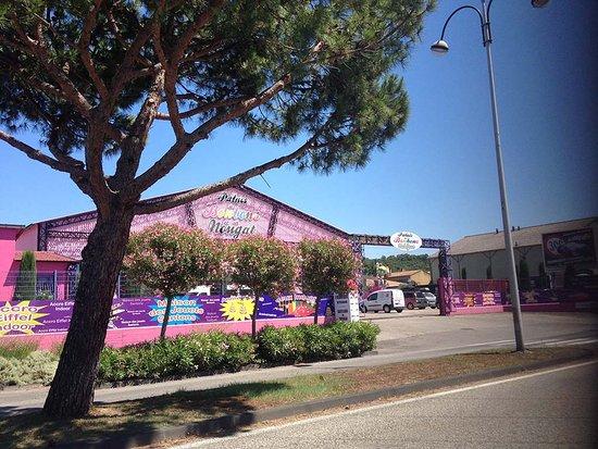 Palais des Bonbons et du Nougat : Entrée du Palais des Bonbons