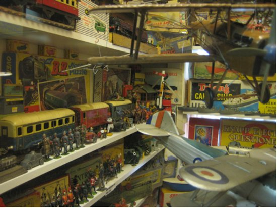 Callander, UK: Just a small part of the incredible collection