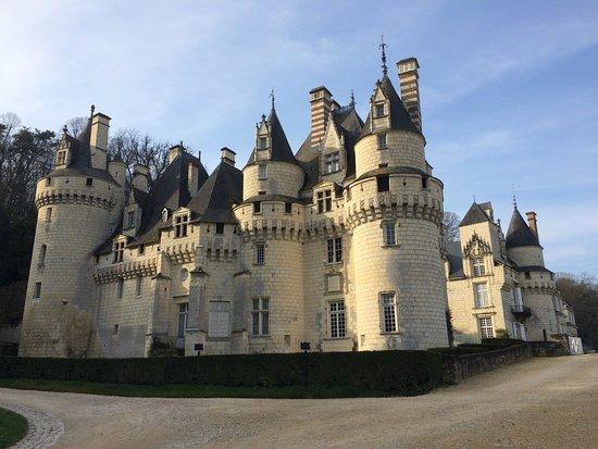 Rigny-Usse, Франция: vue extérieure du chateau