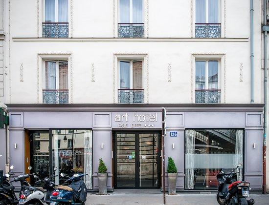 Art Hotel Eiffel: Entrée Hotel/ Façade