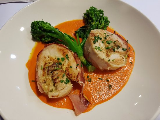Liverpool, Αυστραλία: Chicken wrapped in Prosciutto
