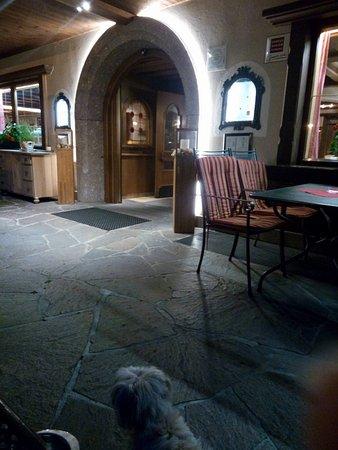 Uderns, النمسا: ingresso ristorante