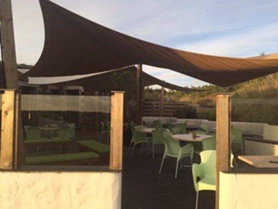 Cubert, UK: General views of outside