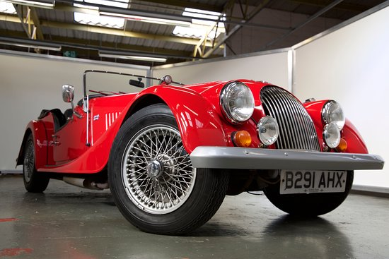 Coventry, UK : Our stunning Morgan 4/4
